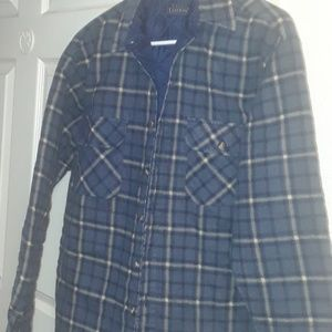 mans Small flannel lined shirt